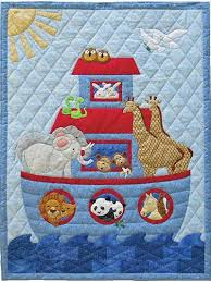 Noah's animals rejoice in the sun as the doves return with an ... & Babies quilt patterns and children quilt patterns from Annie's come in a  variety of styles, so you can make bed quilts, wall hangings, and other  items for ... Adamdwight.com