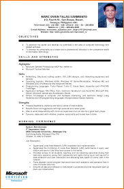 28 Resume Sample Ojt Experience 10 Resume Sample For Hrm