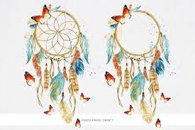 What Native American Tribes Use Dream Catchers Dreamcatcher ClipArt Watercolor Dream Catchers Native America 75
