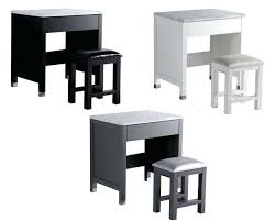 30 table glam make up table set with vanity stool and marble 30 round table top