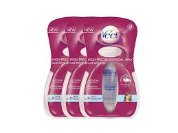 get ations veet high precision warm wax 0 5 ounce pack of 3