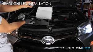 Toyota Camry LED Headlights How To Install - 2011+ - YouTube