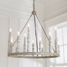 eclectic lighting. Distressed Eclectic Candlestick Chandelier White Lighting T