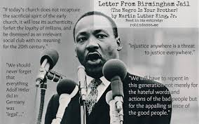 Letter from Birmingham Jail (The Negro Is Your Brother) - Robin ...