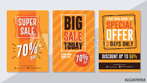 Super Sale Big Sale Today And Special Offer Flyer Template