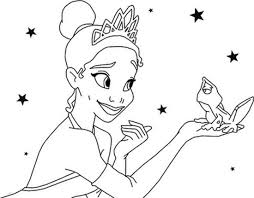 Small Picture Beautifull Disney Princess Tiana Coloring Pages Bebo Pandco
