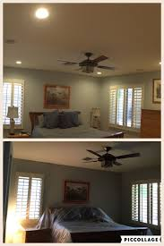 Replace Ceiling Fan With Recessed Light Az Recessed Lighting Installation Of New Led Lights With A