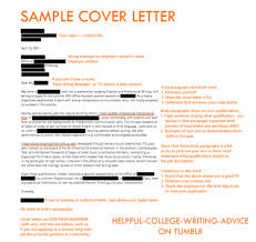 Samples Of Cover Page Sample Cover Letter Tumblr