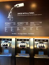 pressed fro yo machines