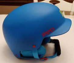 Snowboard Helmet Sizing Chart Red Details About Youth Red Defy Snowboard Helmet Size 53 55yl Cobalt Blue