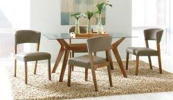 coaster paxton 12218 5 piece rectangular dining table set with side chairs coaster fine furniture