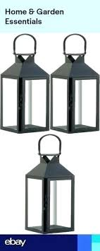 tall black wooden candle holders hourglass holder gold sconces 3 large floor lantern light terrace outdoor