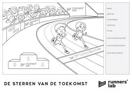 De Sterren Van De Toekomst Kleurwedstrijd Runners Lab Nieuws