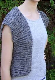 Free Knitted Vest Patterns Fascinating Moonstone Beginner Vest Pattern AllFreeKnitting