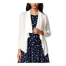 Maison Jules Size Chart Maison Jules Womens Open Shawl Collar Cardigan Sweater