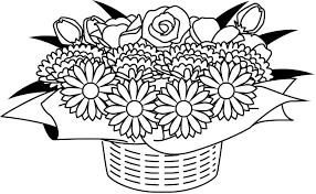 アレンジメント 20 花の無料イラスト素材 イラストポップ