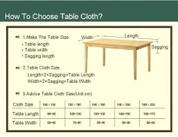table cloth size awesome table cover sizes on modern home decoration idea with table cover sizes square tablecloth sizes for round tables tablecloth sizes