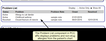 Components Of Patient Medication Chart Pcc Erx Component Reference Pcc Learn
