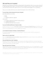 Create A Resume Online Free Interesting How To Create Resumes Creating A Resume Template In Word How To