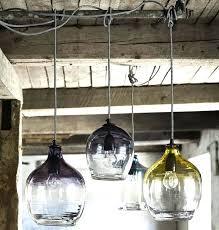 hand blown pendant lights eclectic hand blown glass pendant lights hand blown glass pendant chandelier hand
