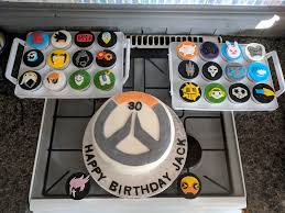 Overwatch Cakes For My Husbands Birthday Album On Imgur