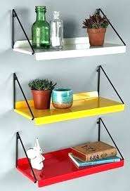 Coloured Floating Shelves Adorable Maple Floating Shelves Coloured Floating Shelves Maple Color