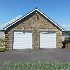 automatic white garage door swansea
