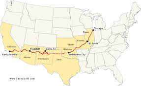 route 66 road trip planner tool