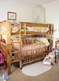 bunk bed crib  google search  my girls room  pinterest  bunk