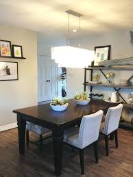 modern dining room chandeliers beautiful contemporary in table