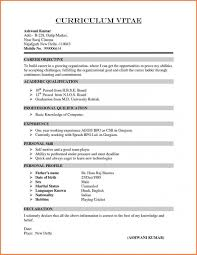 Professional Resume Format Free Download Best Of Different Types Of Resume Format Free Download Best Sample Formats 24