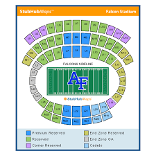 Usafa Stadium Seating Chart Falcon Stadium Events And Concerts In U S A F Academy