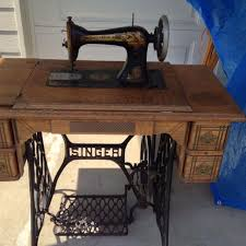1891 Antique Singer treadle sewing machine