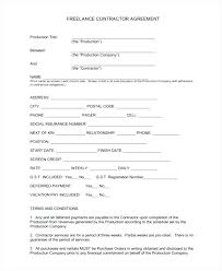 Printable Sample Employment Contract Form Part Time Nanny Template ...