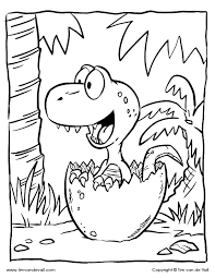Get your free printable dinosaurs coloring pages at allkidsnetwork.com. Baby Dinosaur Coloring Page Color The T Rex Hatchling Dinosaur Coloring Pages Dinosaur Coloring Sheets Dinosaur Coloring