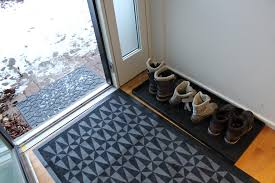 Shoe Mats Inspiration Family Friendly Hallway