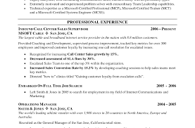 Call Center Resume Samples 81 Glamorous Examples Of Resume