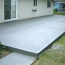 stamped concrete patio cost cement poured wall designs resurfacing with fireplace to install