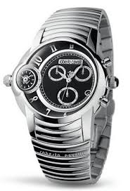 • the world s catalog of ideas roberto cavalli unisex watch in collection caracter chrono black dial and stainless steel bracelet