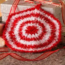 Red Heart Scrubby Yarn Patterns Delectable Peppermint Scrubby Red Heart