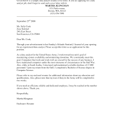 Cover Letter For Internal Position Sample Cover Letters 14