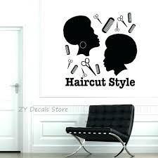 salon pictures for wall hair salon wall decor haircut style vinyl stickers hairdresser tools decal mural salon pictures for wall unique salon wall art