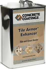 exterior grade grout sealer. cci tile armor™ enhancer exterior grade grout sealer