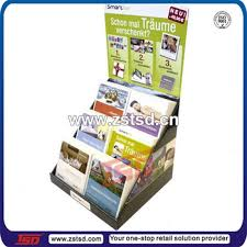 Cardboard Book Display Stands Tsdc100 Corrugated Counter Top Portable Book Display Stands 94