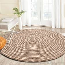 handmade weave round carpets for living room solid computer chair area rugs children play tent floor mat cloakroom tatami mats industrial style rugs carpets