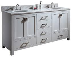 traditional double sink bathroom vanities. 72quot Toscana Double Sink Vanity White Traditional Bathroom 72 Vanities