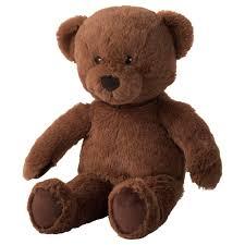 BRUNBJRN soft toy, bear