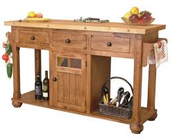Furniture Kitchen Island Sunny Designs Sedona Rustic Oak Kitchen Island Table Dunk