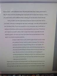 Essay On Self Confidence An Essay About Self Confidence