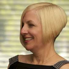 straight short a line bob hairstyle